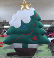 inflatable christmas tree decorations for professionals