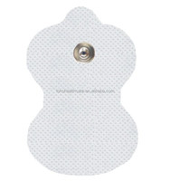 Tens unit electrodes for snap button