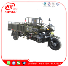 KAVAKI China 3 wheel Motorcycle 200CC Gas Motor Tricycle for Cargo Farming Tricycle