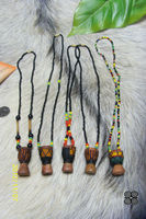 african djembe necklace