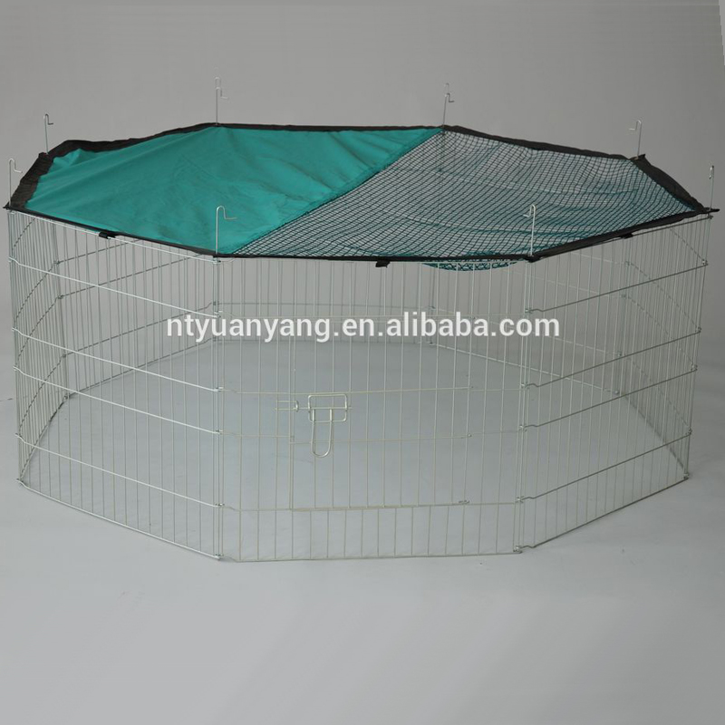 Portable High Quality Folding galvanized dog enclosure