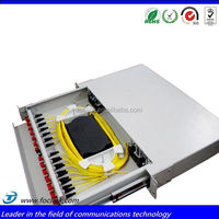 Big Promotion Best Quality 1U 19 Inch Fiber Optic Distribution Patch Panel Shenzhen Manufacturer
