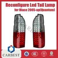 High Quality Reconfigure II LED Tail Lamp Tail Light Rear Lamp for Hiace 2005-UP