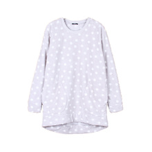 stocklots dot patterns high quality crewneck sweatshirt without hood