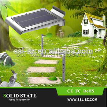 High Lumen Led All In One Solar Outdoor Solar Ligthing for Garden