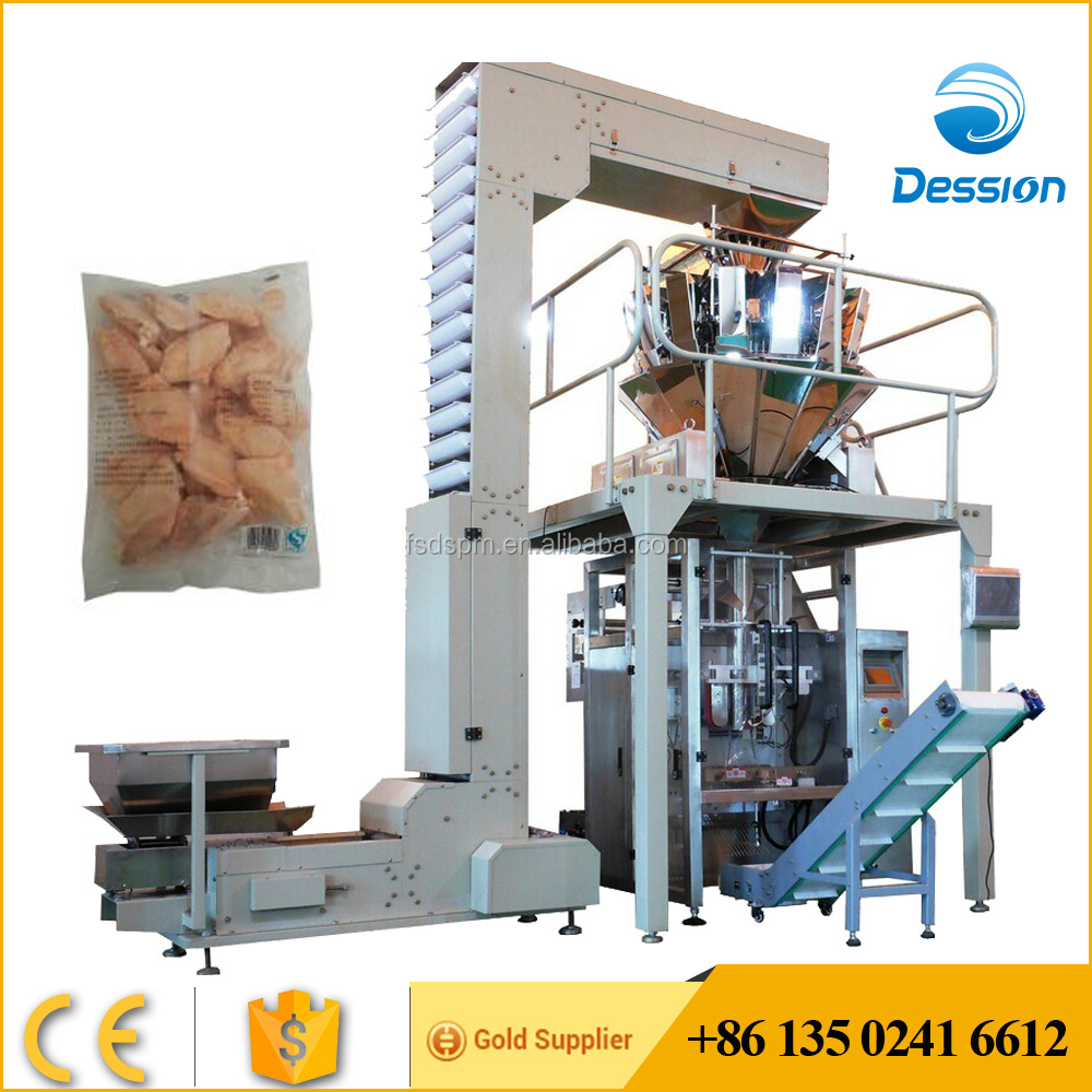 DS-420 Frozen Chicken Wings Packing Machine