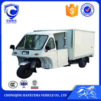 China hot product cargo container tricycle with cabin