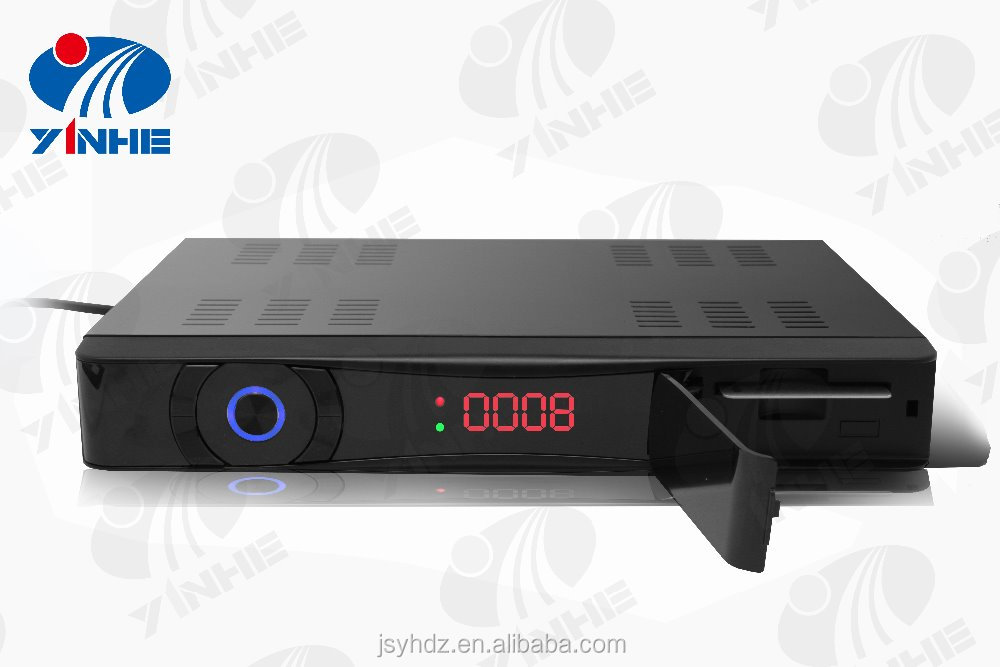 HD digital satellite Set-top Box Receiver Manufacturer Supports 6MHz Software Setting
