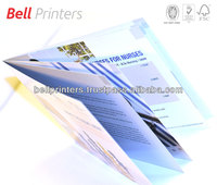 8PP small brochure catalogue printing from India