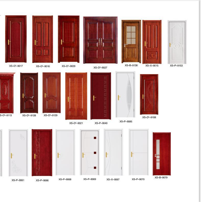 Solid Wooden Door Venner Wooden Flush Doors Design