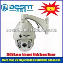 Hot sales 1/4 sony ccd High speed outdoor dome cctv camera BS-271