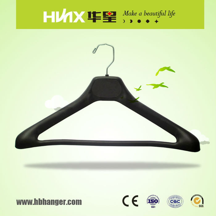 HBX578 Showcase Wide Shoulders Suit Display Hanger With Bar