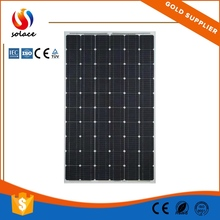 high quality high efficiency 200w solar panel with iso.ce.iec.rohs.tuv.inmetro