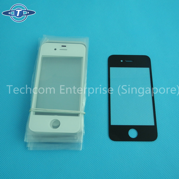 Top quality ultra glass for iphone 4/4S broken screen repair to change