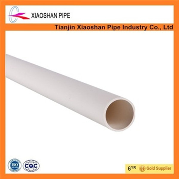 Heay duty din standard electrical conduit 10mm pvc pipe for wire protction
