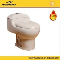 Cheap Bathroom Ceramic WC S Trap Siphonic One Piece Toilet