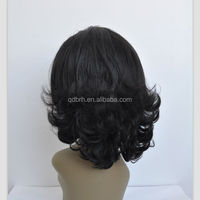 Fashion Short Curly Synthetic Hair Lace Front Wigs