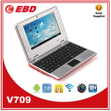 Cheap mini Colorful 7 inch android mini laptop