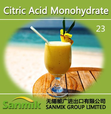 Factory sale food grade / food additive Citric acid monohydrate/ anhydrous 99.9% BP 98 12-40 mesh