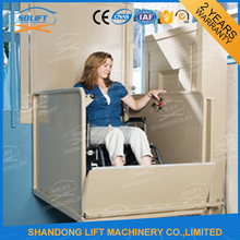 China hydraulic personal lift for disabled people with CE