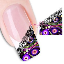 hotselling water nail sticker /nail art sticker / nail sticker decals