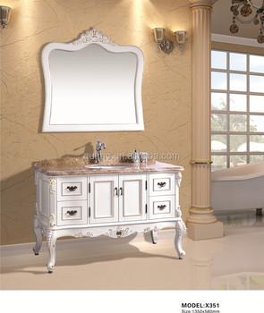 Autme modern makeup vanity table wholesale bathroom cabinet with mirror