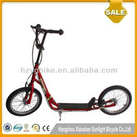 16 Inch Original Design Big Wheel Pro Kick Scooter/Adult Foot Scooter