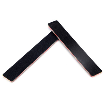 OEM Grit eva square black nail file from korea