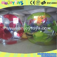 Color PVC Sport Inflatable Water Filled Weight Ball