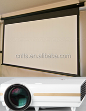 100 inch 120 inch electric projector screen motorized projection screen