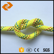 20mm Yellow Braided Nylon Rope