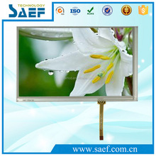 TFT lcd module 7.0 inch landscape screen 800x480 dots touch screen with controller panel with RGB interface