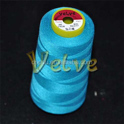 poly / poly core spun sewing thread used industrial sewing machines sale