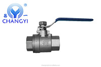 Stainless Steel 2pc 1000WOG Female Thread Ball Valve Made In China Lowest Price Factory Price