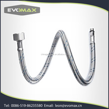 Stainless Steel Flexible braided hose with EPDM inner tube
