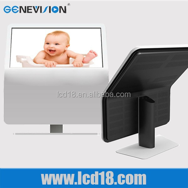 Lcd Factory Price 24'' Ultral Slim Hdmi Input Floor Standing Video Player