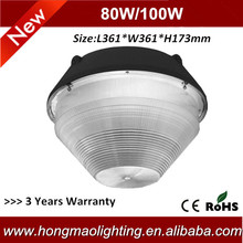 Bridgelux Chips 60w led outdoor canopy light