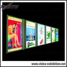 LED magic mirror advertising display light box/Crystal light box