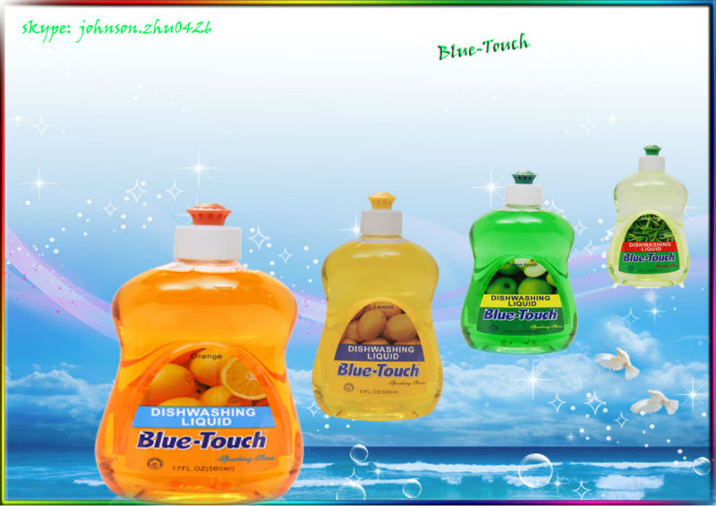 Blue-Touch Name 500ml high-efficiency dishwashing liquid