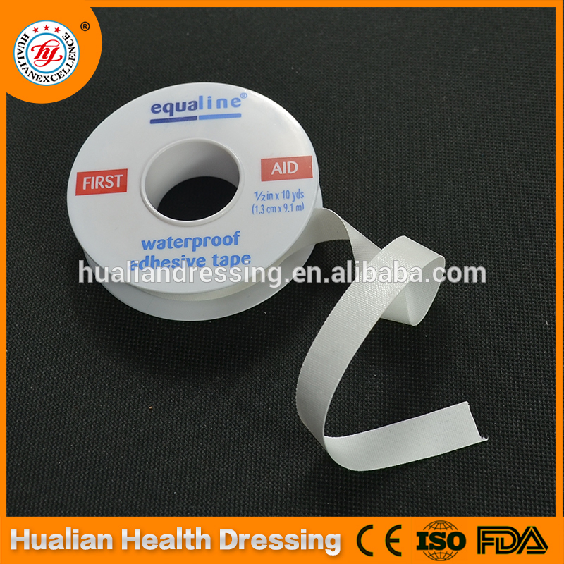 Plastic-coated cotton fabric medical tape for sensitive skin with best quality and low price