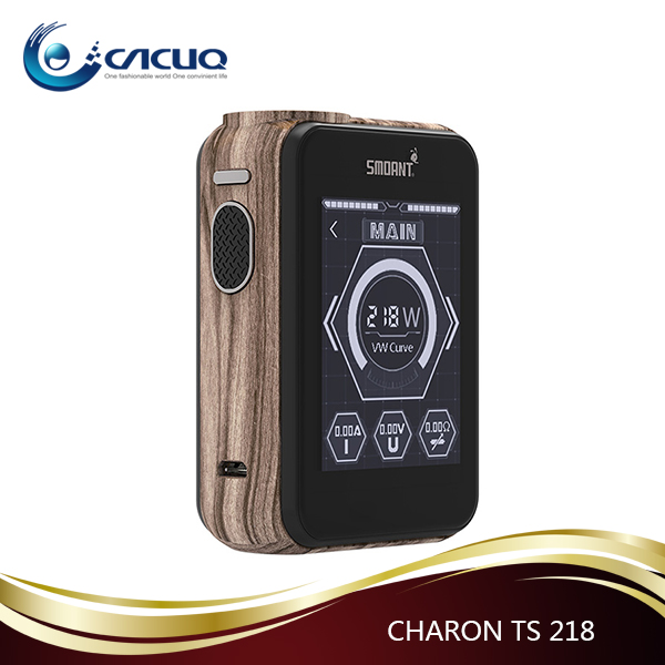 Smoant CHARON TS 218W Output Power with ANT 218s Chip