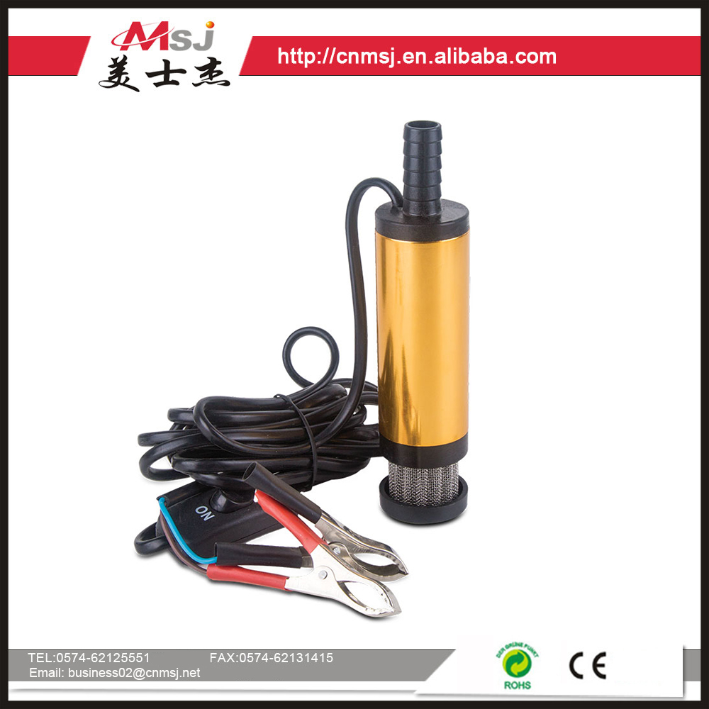 12v dc submersible water pump/ submersible well pump MSJ-091