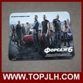 High quality sublimation printed mouse pad silicone mouse pads