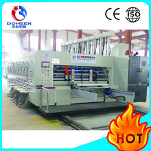 DoHeen-B 1326 Series Automatic 4 Color Printer Slotter Die Cutter Vibrator Stacker Carton Box Printing Machine