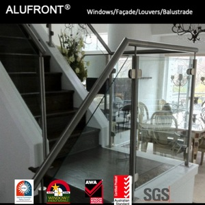 Top quality SS316 A grade Stainless steel Glass handrail