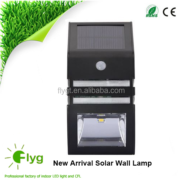 Cheapest Solar Panel Power Security Outside Garden Lamp Wall Mounted LED Motion Solar Light