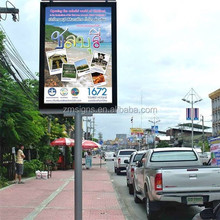 Street Pole Advertising / Lamp Pole Advertising Light Box