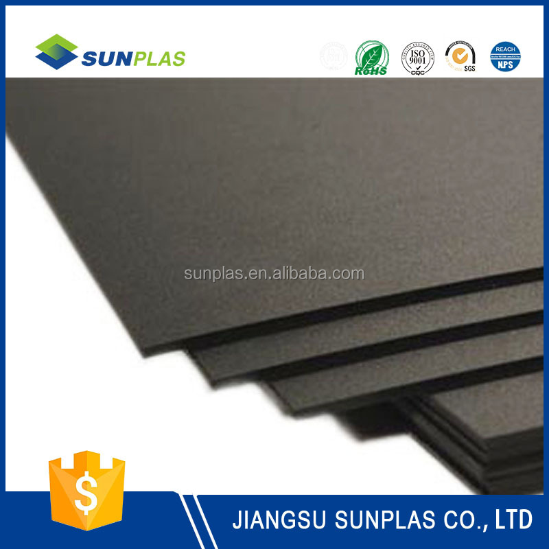 Factory price smooth ABS antibiosis sheet plastic sheet