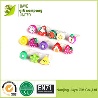 Fanshion fruits anti dust plug /ear cap plug