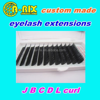 tray packing professional salon eyelash arix natural soft lash extensions